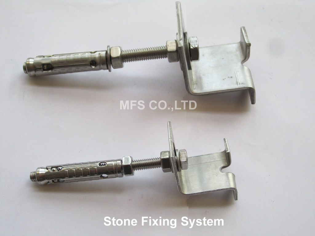 stone fixing system
